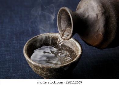 Japanese rice wine  SAKE