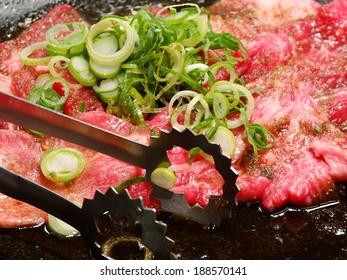 Japanese roast beef dish