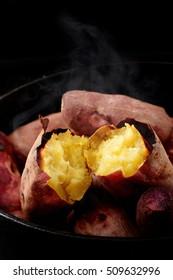 Japanese roasted sweet potato