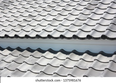 Japanese roofing tile, building material