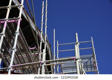 Japanese scaffolding materials