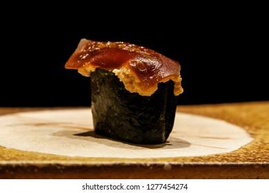 Japanese Sea Urchin Sushi