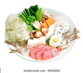 Japanese Shabu Sukiyaki style