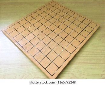 Japanese shogi board and piece