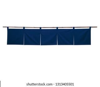 Japanese shop curtain