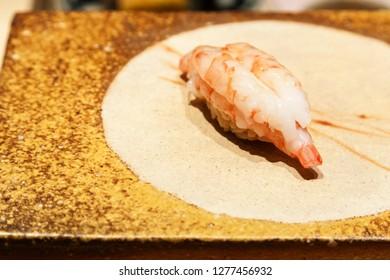 Japanese Shrimp Sushi