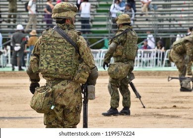 japanese soldier (japan ground-self defense force)