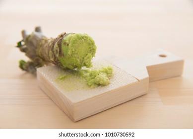 Japanese spice wasabi