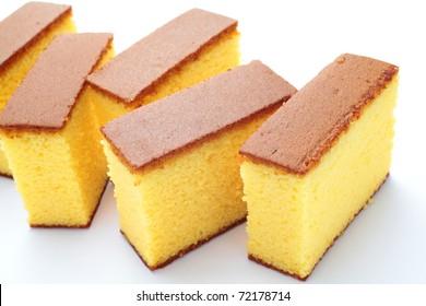 """Japanese sponge cake """"castella"""""""