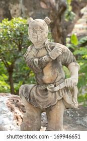 japanese statues Child, Thailand