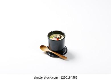 Japanese steamed egg custard
