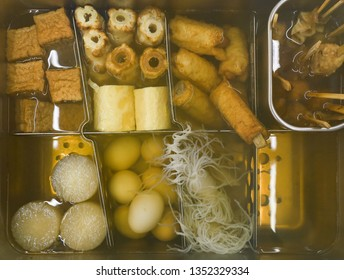 Japanese style boiled Oden food