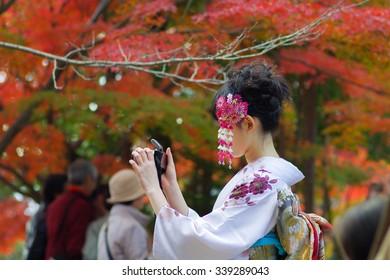 japanese style kimono, Kyoto(prefectures),tourism of japan