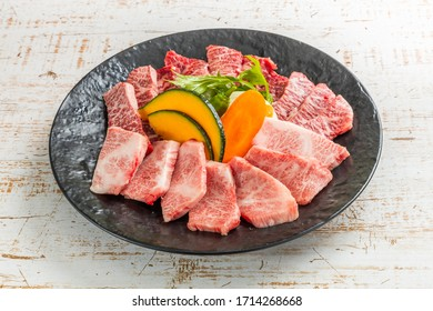 Japanese style luxury grilled beef