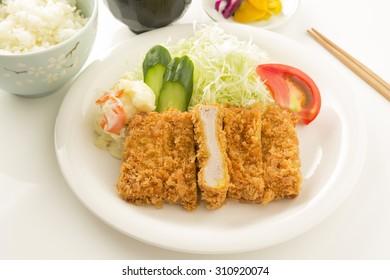 Japanese style Pork cutlet