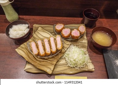 Japanese style Pork Cutlet, Tonkatsu. This is a Tonkatsu which is Japanese style pork cutlet.