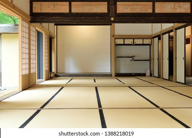 Japanese style room - traditional tatami mat room.