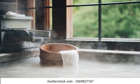 Japanese style spa