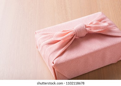 japanese summer gift on  wooden table