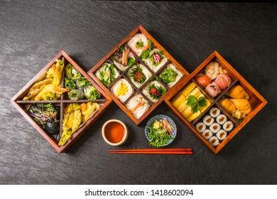 japanese summer thin noodles (somen)
