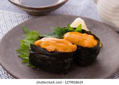 Japanese Sushi - Sea urchin