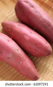 Japanese sweet potato for autumn image
