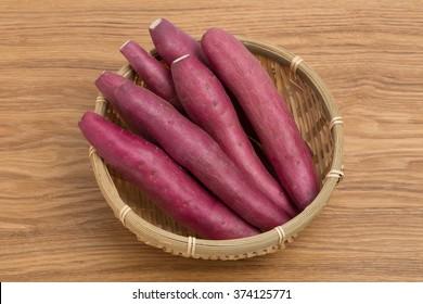 Japanese sweet potato named Naruto Kintoki