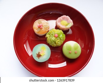Japanese sweets in winter