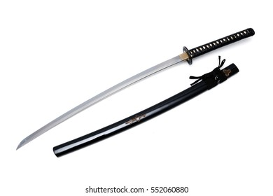 Japanese sword and scabbard