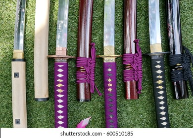 Japanese swords and scabbards