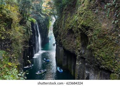 Japanese Takachiho Gorge