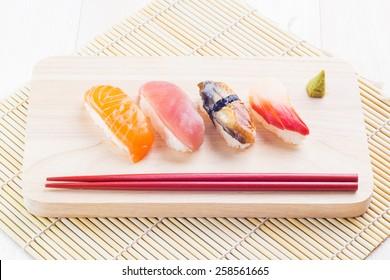 Japanese tasty sushi