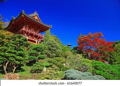 Japanese Tea Garden in Golden Gate Park, San Francisco