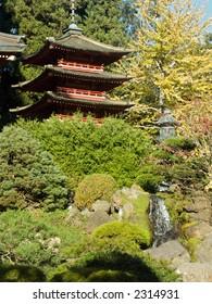 Japanese Tea garden, San-Francisco, California, USA