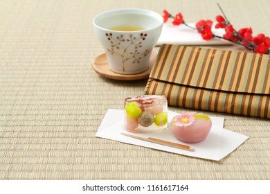 Japanese teatime on Tatami