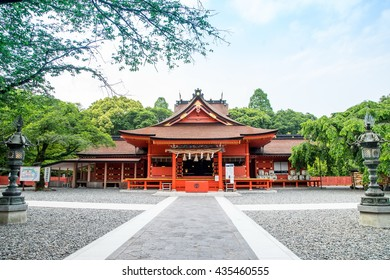 Japanese Temple on the way travelling