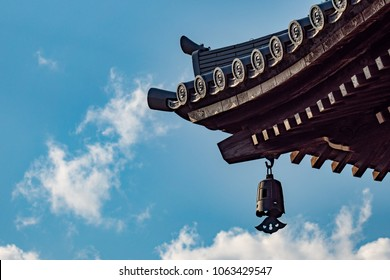 Japanese temple roof design