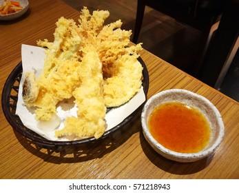Japanese tempura set