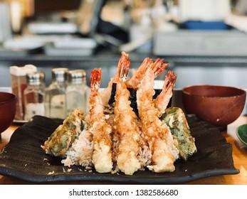 Japanese Tempura Set is the traditional food