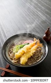 Japanese tempura, Toshi-koshi soba