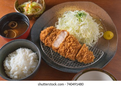 Japanese tonkatsu.