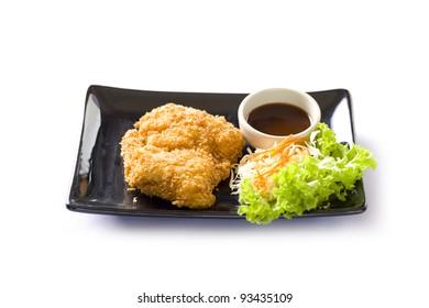 Japanese Tonkatsu, pork cutlet