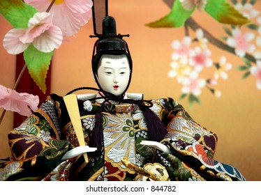 Japanese Traditional Doll, known as hina doll