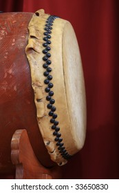 "Japanese traditional drum ""TAIKO"""