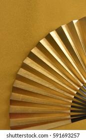 Japanese traditional folding fan