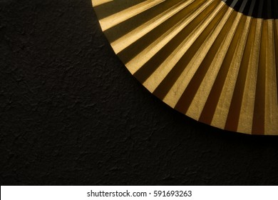 Japanese traditional folding fan
