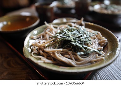 Japanese traditional food Echizen soba noodle