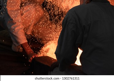 japanese traditional forging process