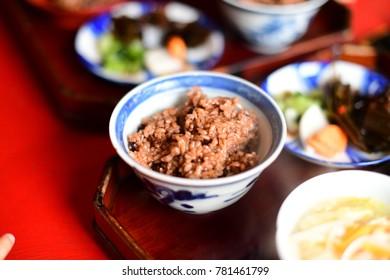 Japanese traditional Soba-gaki