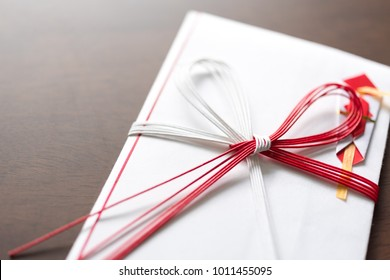 a Japanese traditional special envelope